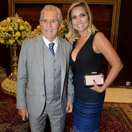 Carlos Alberto de Nóbrega e Renata Domingues - Francisco Cepeda e Patrícia Devoraes/AgNews