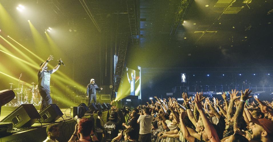 Público curte show da Cypress Hill, em São Paulo