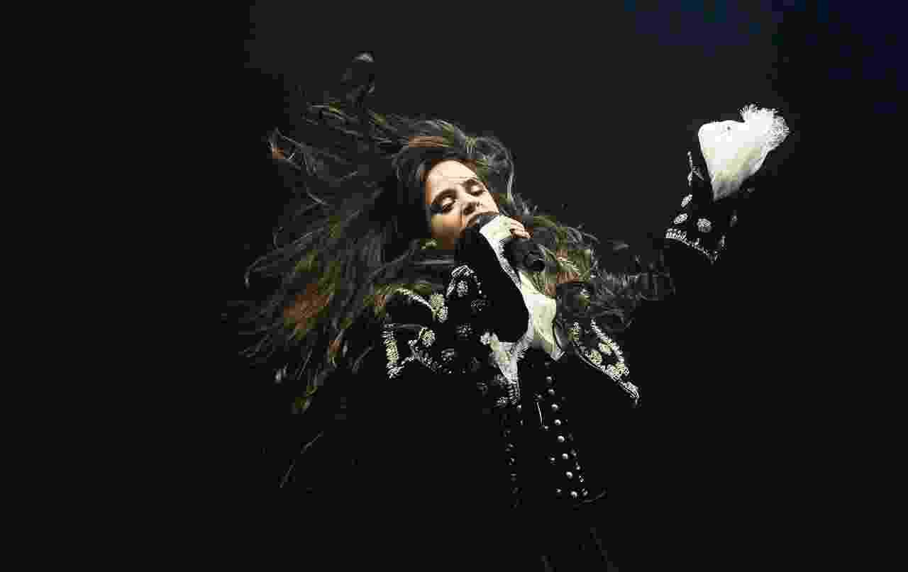 Camila Cabello se apresenta durante o Z Festival, no Allianz Parque, em São Paulo - Francisco Cepeda/AgNews