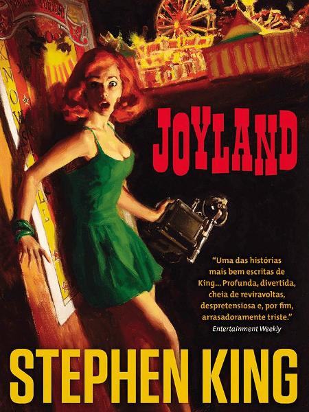 """Capa do livro """"Joyland"""", de Stephen King - Reprodução"""