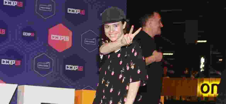 Ellen Page surge de surpresa na CCXP 2018 - Iwi Onodera