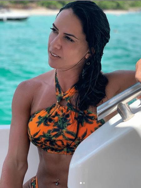 Graciele Lacerda exibe veias saltadas nos braços - Reprodução/Instagram