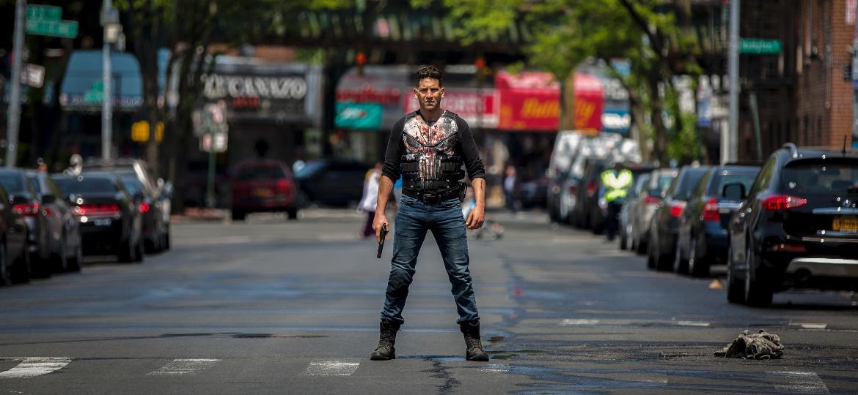 "Jon Bernthal na segunda temporada de ""O Justiceiro"" - Cara Howe/Netflix"