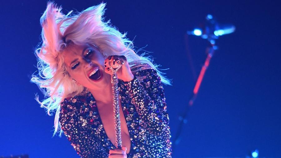 Lady Gaga se apresenta no Grammy 2019 - AFP