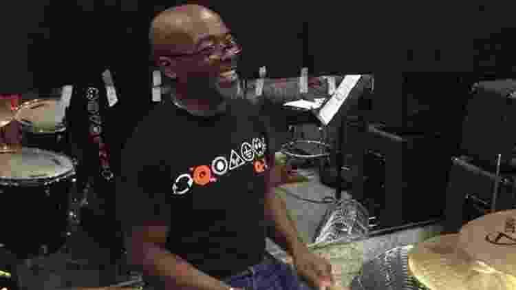 O baterista Andy Anderson - Reprodução/Facebook - Reprodução/Facebook