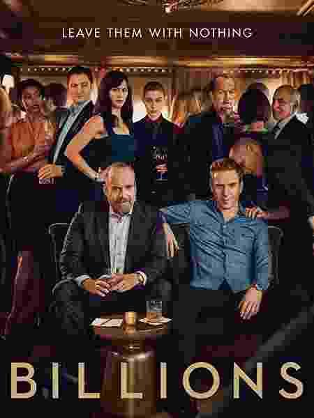 """Pôster da quarta temporada de """"Billions"""" - Divulgação/IMDb - Divulgação/IMDb"""