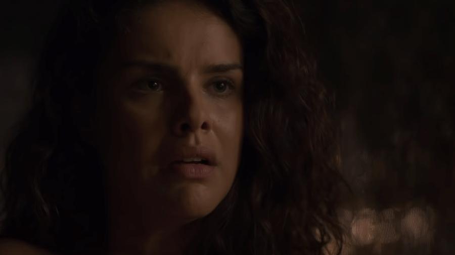 """Paloma Bernardi em trailer de """"O Escolhido"""" - Reprodução/YouTube"""