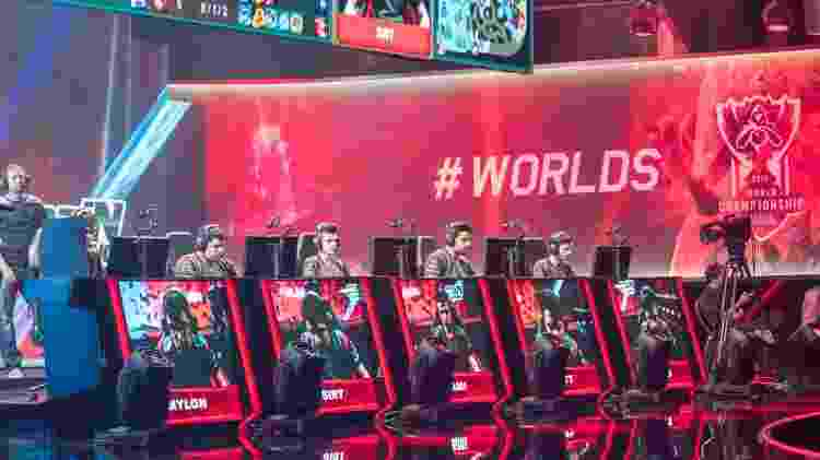 Kami com a paiN Gaming no Mundial de 2015, em Paris  - Riot Games/Divulgação