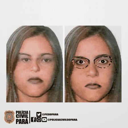 Polícia procura mulher suspeita de sequestrar crianças na Grande Belém - Divulgação/Polícia Civil do Pará
