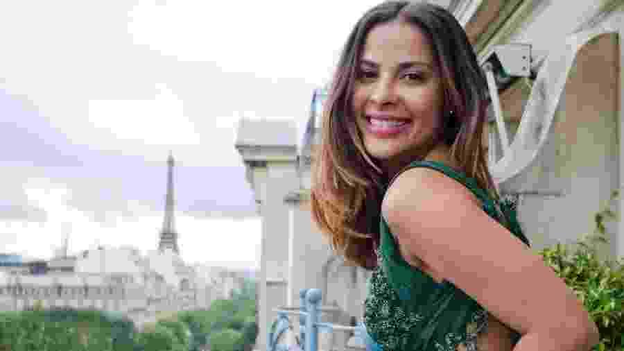 Gyselle Soares posa para ensaio fotográfico em Paris - Patricia Carneiro/Reprodução/Instagram/gysellesoaresestevao