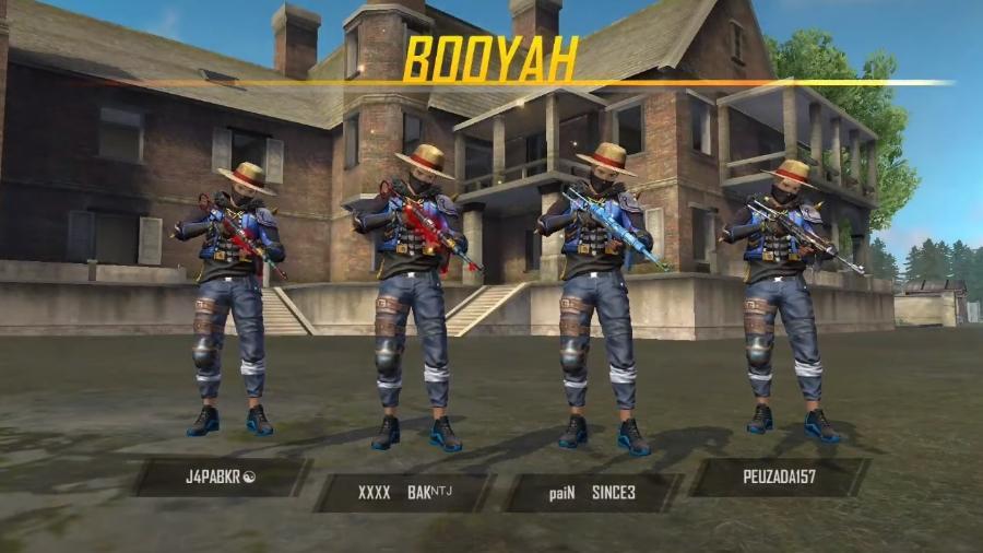 Se conseguir um Booyah já é bom, com os amigos fica melhor ainda - Reprodução/YouTube