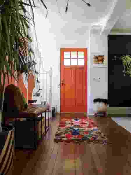 Porta colorida laranja - Reprodução/Pinterest - Reprodução/Pinterest