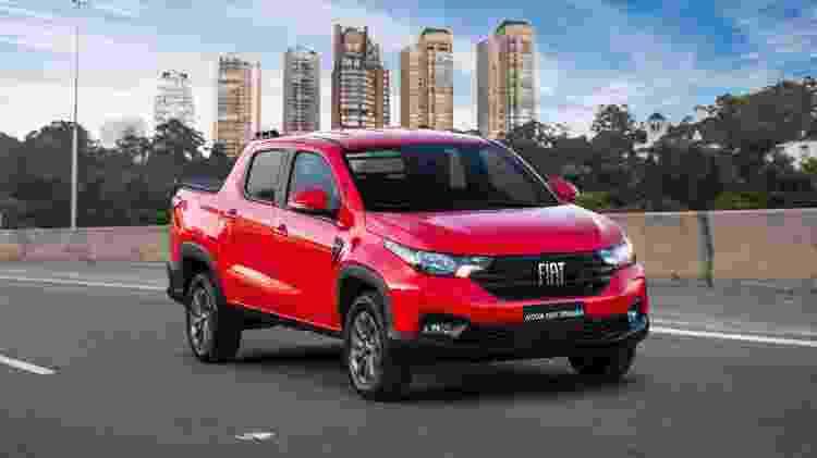 Nova Fiat Strada 2021 7 - Divulgação - Divulgação