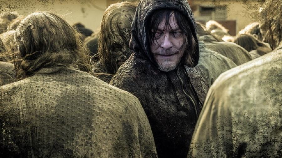 """Cena da 10ª temporada de """"The Walking Dead"""" - Reprodução"""