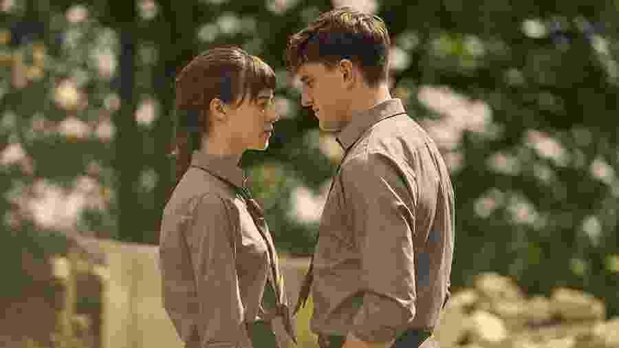 """Marianne e Connell, personagens da série """"Normal People"""" - Divulgação"""