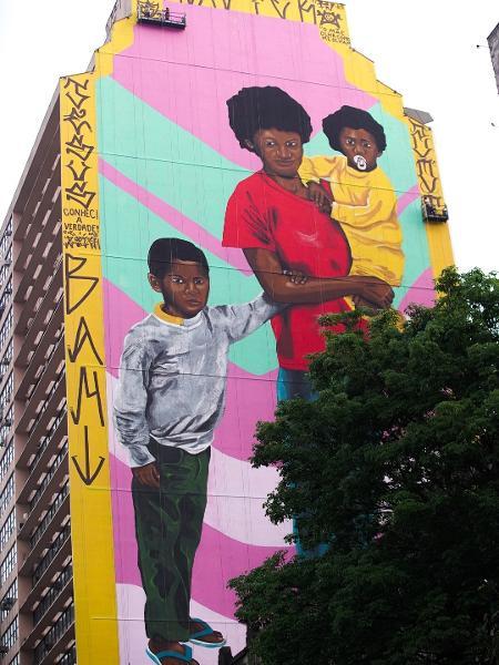 Obra de Robinho Santana em Belo Horizonte - Divulgação