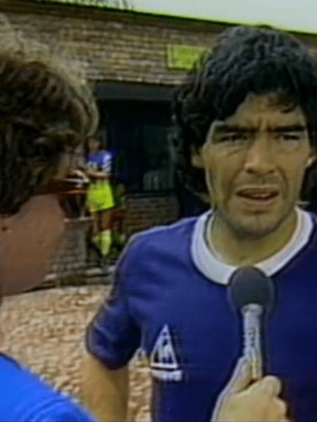 Isabela Scalabrini relembrou encontro na Copa do Mundo de 1986 - Reprodução/Gshow