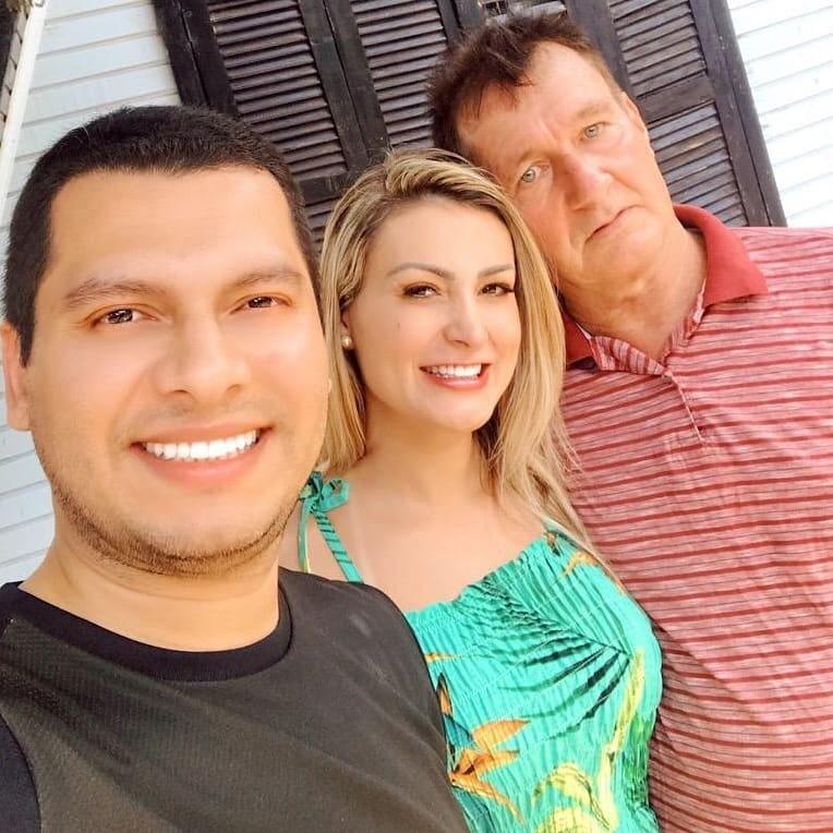 Thiago Lopes, Andressa Urach e Carlos Urach