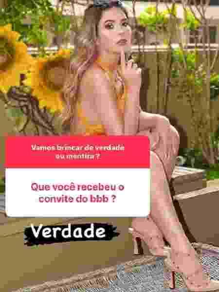 Nadja Pessoa revela convite para o Big Brother Brasil - Reprodução/Instagram - Reprodução/Instagram