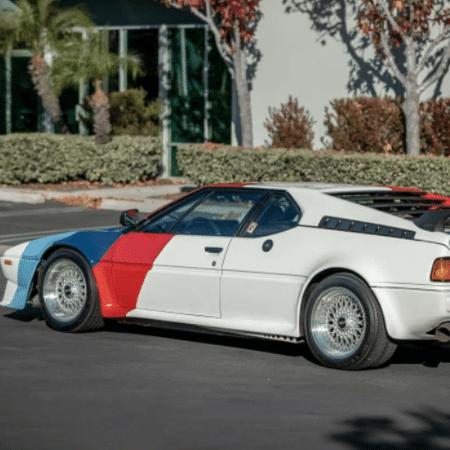 BMW M1 que pertenceu à Paul Walker - Divulgação