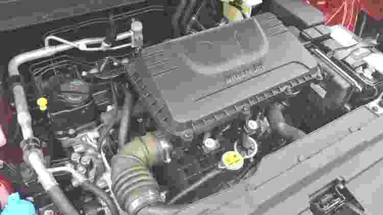 JAC T40 Plus motor - Divulgação - Divulgação