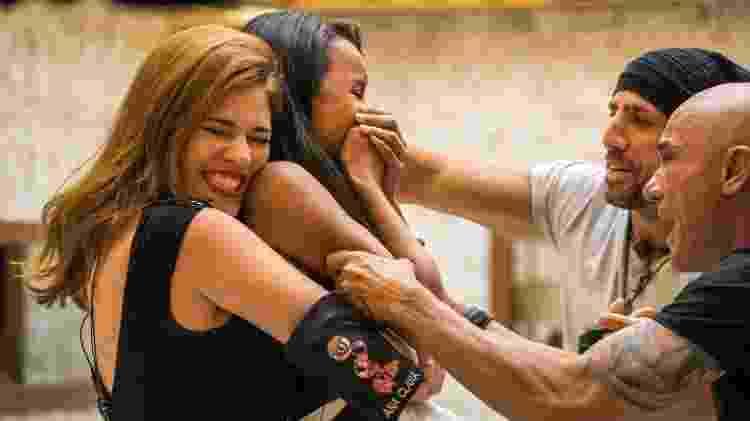 Ana Clara, Gleici, Kaysar e Ayrton no BBB 18 - Divulgação/TV Globo - Divulgação/TV Globo