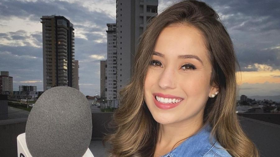 Laurene Santos, repórte da TV Vanguarda - Reprodução/Instagram @laurenesantos