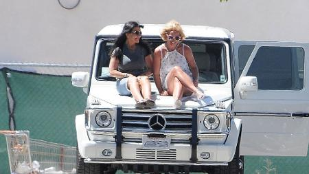 Britney and her mother in Los Angeles in 2015 - Chinchilla/Bauer-Griffin/Getty - Chinchilla/Bauer-Griffin/Getty