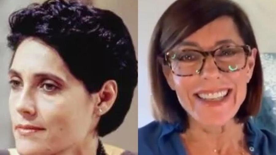 """Christiane Torloni viveu Diná em """"A Viagem"""" - Divulgação / TV Globo / Reprodução / Instagram"""
