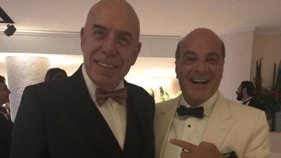 Amilcare Dallevo e Marcelo de Carvalho são os donos da RedeTV! - Reprodução/Instagram
