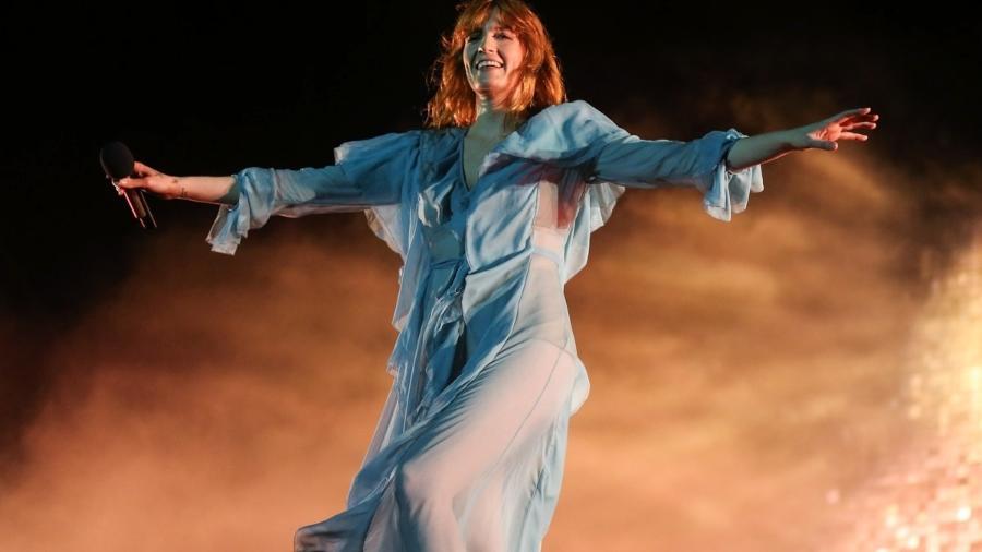 Florence Welch, líder do grupo Florence and the Machine - Manuela Scarpa e Rafael Cusato/Brazil News
