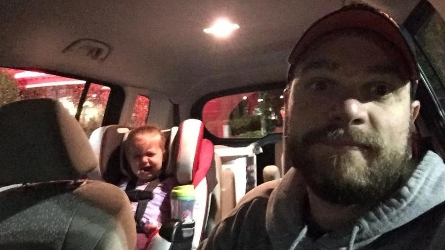 Clint Edwards resolveu contar como lidou com o chilique dado pela filha - Reprodução/Facebook