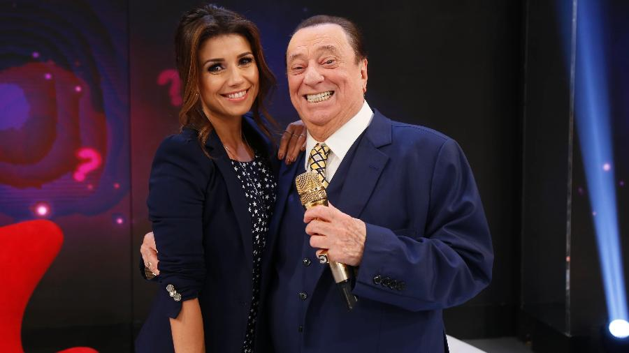 "Paula Fernandes participa do ""Programa Raul Gil"" - Rodrigo Belentani/SBT"
