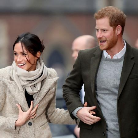 Príncipe Harry e a noiva, Meghan Markle - Getty Images