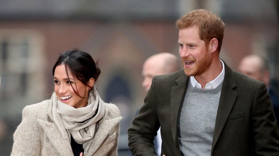 Príncipe Harry e a noiva, Meghan Markle - Getty Images