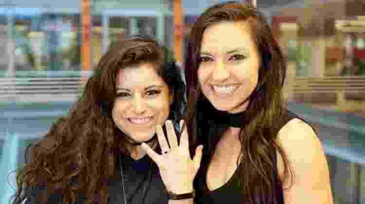 Chambers pediu a namorada em casamento - BBC