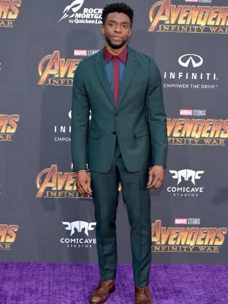 Chadwick Boseman vive Pantera Negra no universo Marvel - Getty Images