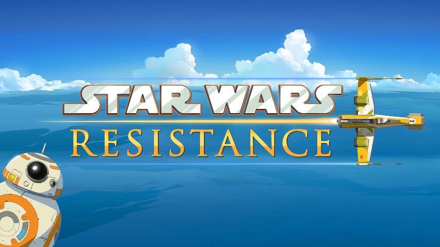 """Imagem de divulgação da série animada """"Star Wars Resistance"""" - Divulgação/Disney Channel"""