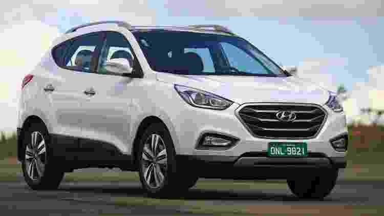 Hyundai Ix35 2017 - Divulgação - Divulgação