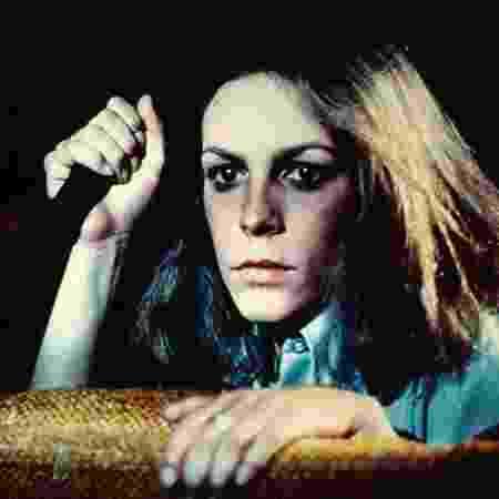 """Jamie Lee Curtis no """"Halloween"""" original, de 1978 - Reprodução"""
