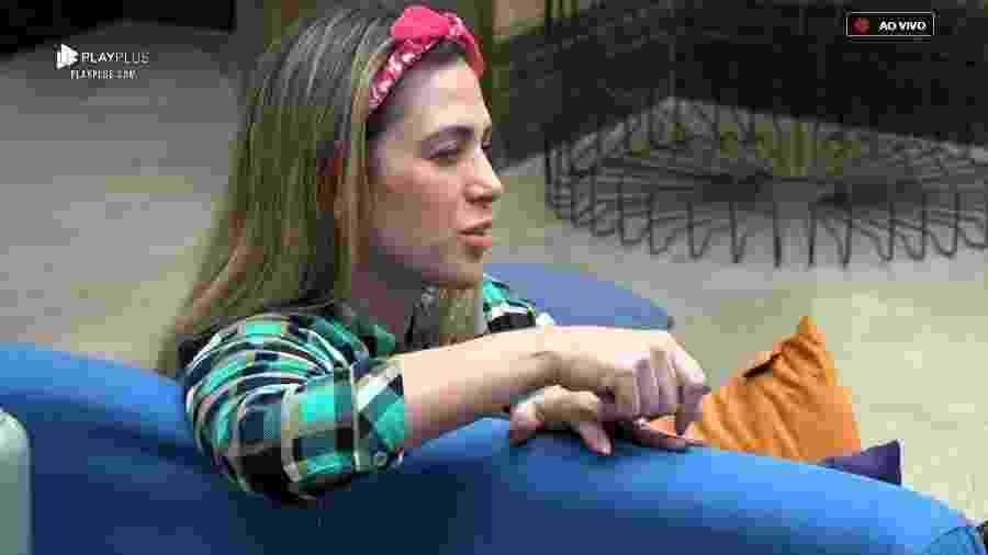 Nadja Pessoa desabafa com Ana Paula sobre comentário de Perlla - Reprodução/PlayPlus