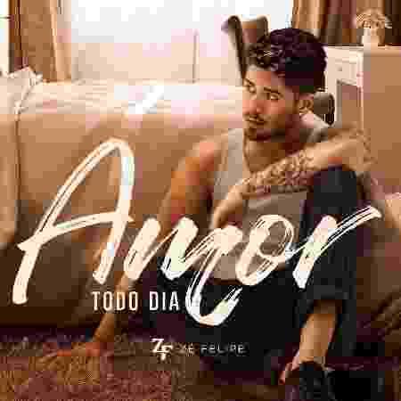 """Capa do single """"Amor Todo Dia"""", do cantor Zé Felipe - Divulgação"""