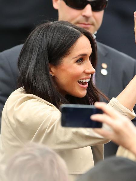 Meghan Markle em Melbourne, na Austrália - Getty Images