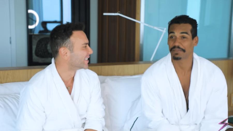 Marcello Melo Jr é entrevistado por Matheus Mazzafera - Reprodução/Instagram