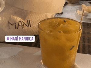 Brie Larson passa pelo Mani Manioca - Reprodução/Instagram - Reprodução/Instagram