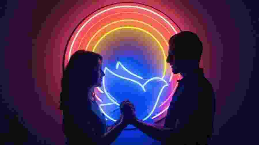 """Imagem de """"Divino Amor"""" - Reprodução"""