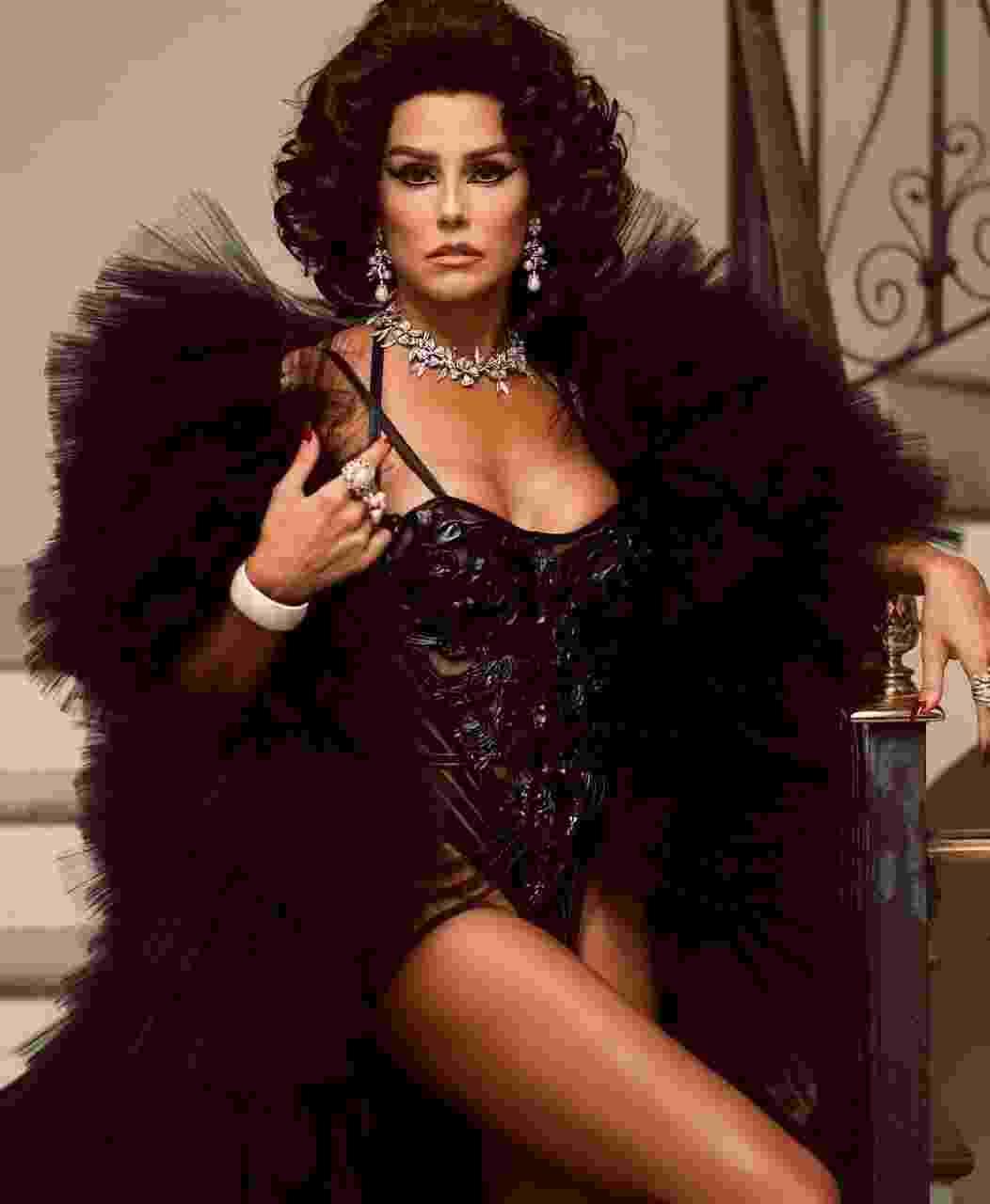 A atriz Deborah Secco, rainha do Baile do Copa - Reprodução/Instagram