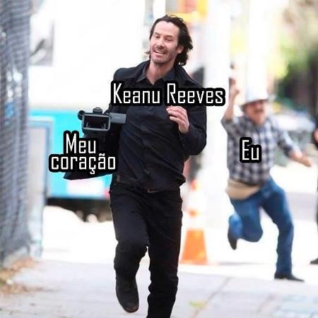 Keanu Reeves e o Keanuísmo - Reprodução/Facebook