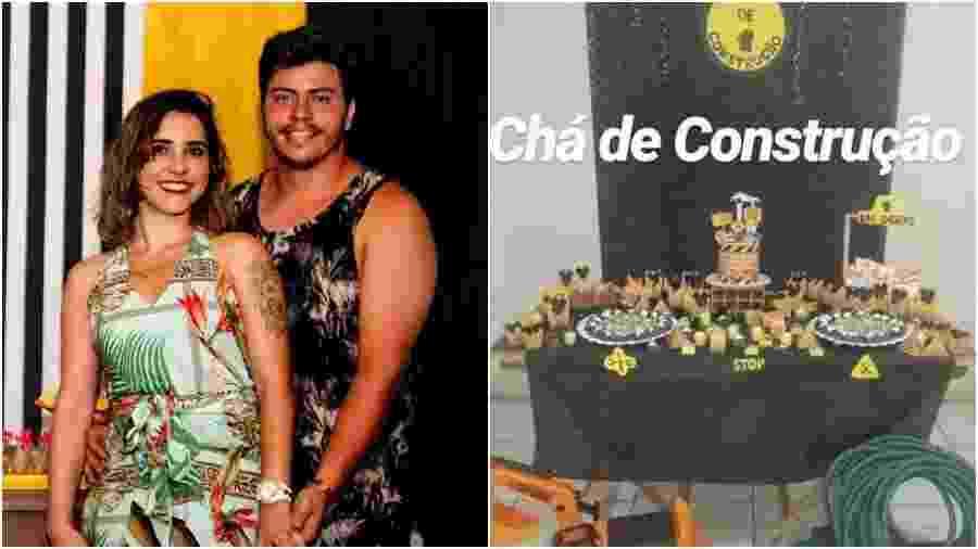 Chá de construção viraliza entre noivos Luanda e Marcus noivos  - Isis Brito Fotografia/Facebook/Reprodução/Instagram