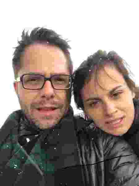Marina Vaz e Diego Locci: amor depois de relacionamentos longos - Arquivo Pessoal